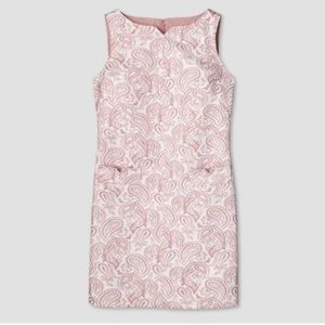 Victoria Beckham x Target embroidered shift dress